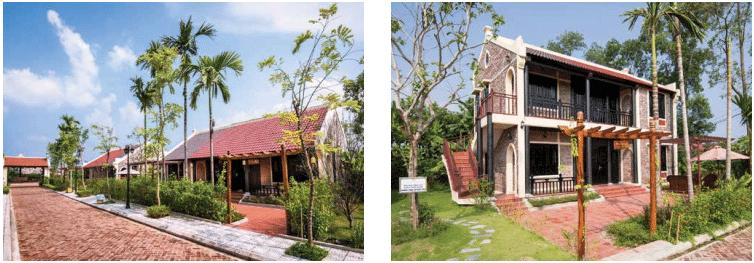 Biệt thự truyền thống dự án Vườn Vua Resort Phú Thọ
