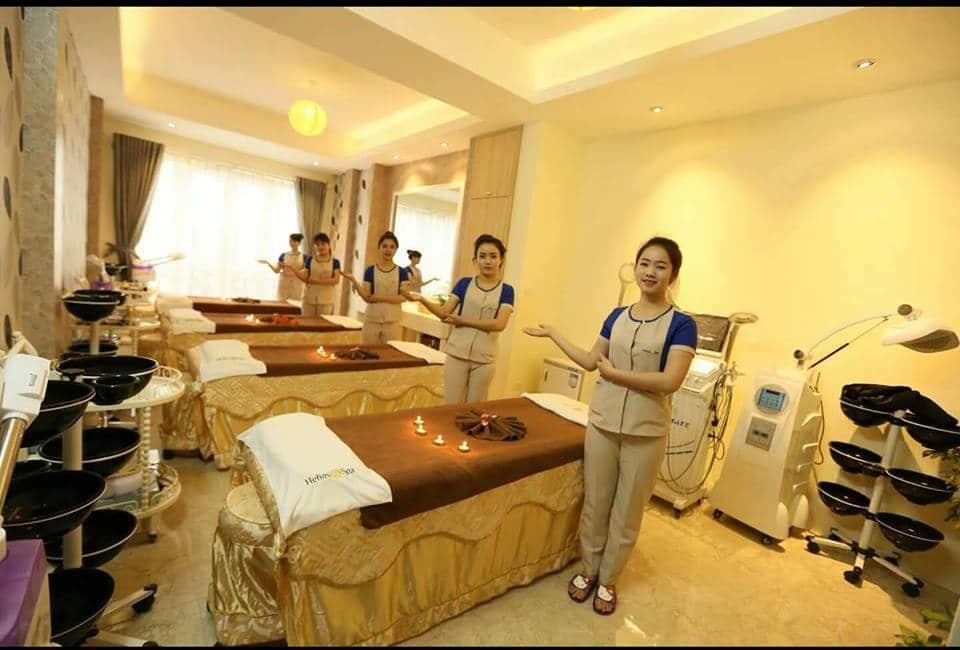 Dịch vụ Spa chất lượng cao Dự án Vườn Vua Resort Phú Thọ
