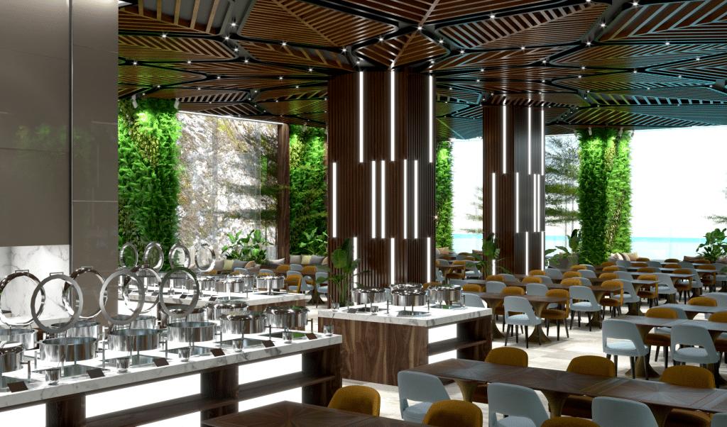 dự án Biệt thự The Legend Flamingo Đại Lải nhà hàng sang trọng