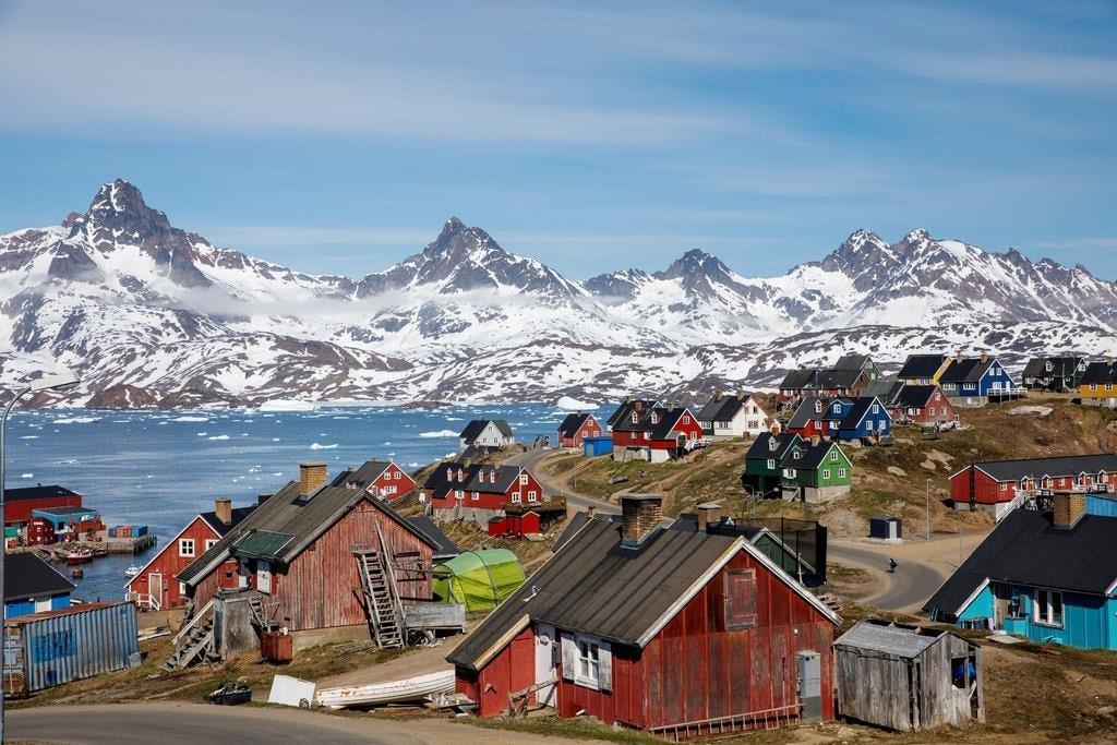 Vùng lãnh thổ Đảo Greenland băng phủ 80% diện tích