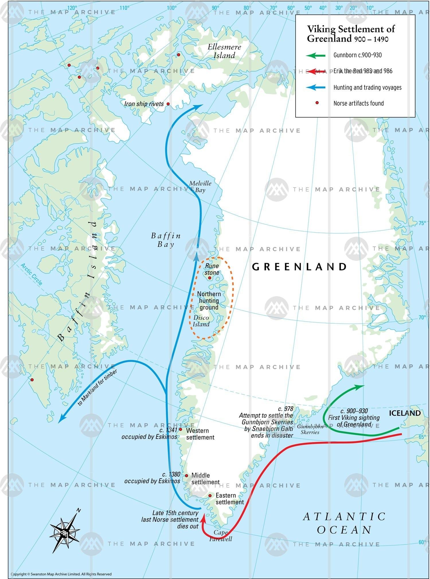 Vùng lãnh thổ Đảo Greenland băng phủ 80% nhưng giàu Đất Hiếm