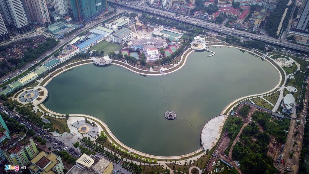 Công viên Nhân Chính đã vận hành cung cấp không gian Xanh cho KĐT Trung Hòa - Nhân Chính