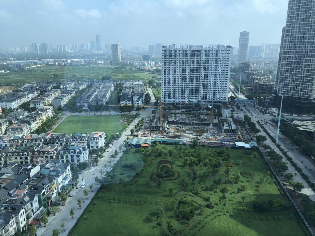 Anland Complex và Anland Premium ảnh hưởng tầm view HPC Landmark 105 cũng như BID Residence