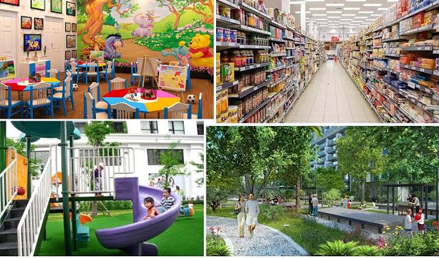 Tiện ích Dự án Handico 52 Trần Thái Tông - Thành Thái - The Park Home
