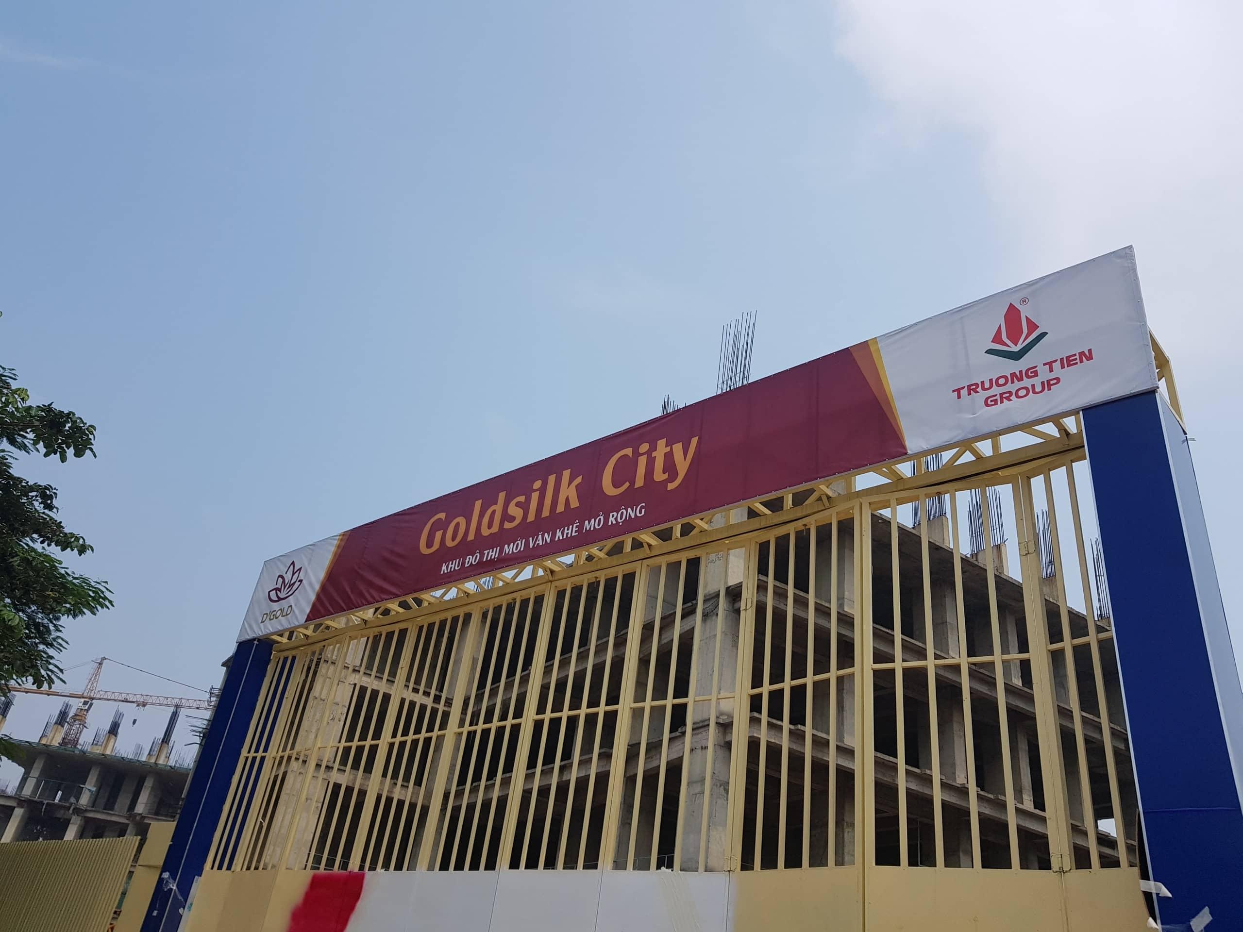 Công trường Dự án Goldsilk City