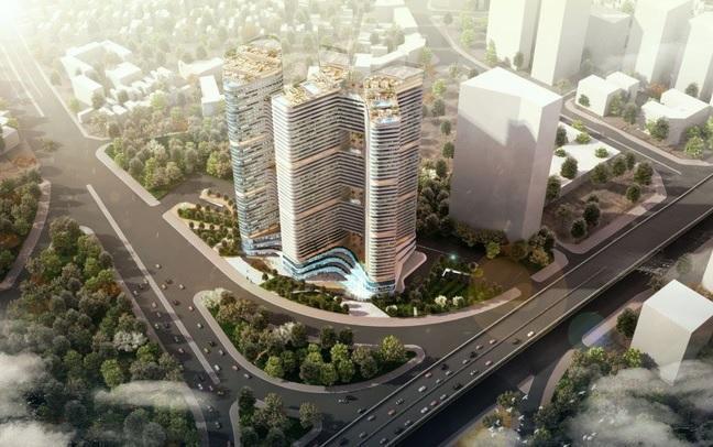Phối cảnh Dự án Chung cư Grandeur Palace Phạm Hùng