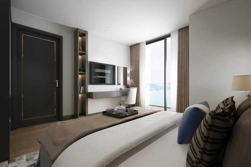 Phòng ngủ nhỏ Dự án Chung cư Grandeur Palace Phạm Hùng