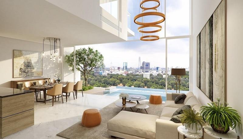 Căn hộ Penthouse Duplex