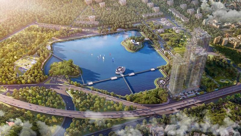 Grandeur Palace view trọn vẹn công viên hồ điều hòa Cầu Giấy 32ha