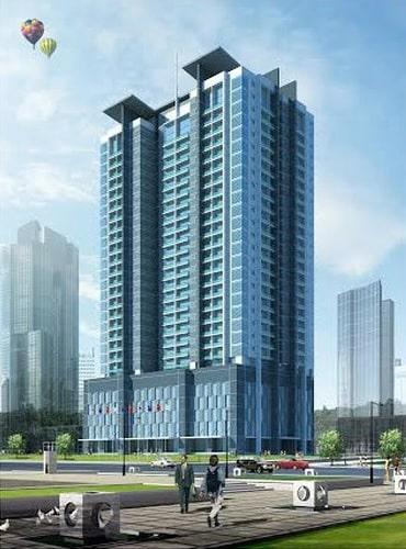 Phối cảnh Dự án Chung cư Green Building 93 Láng Hạ