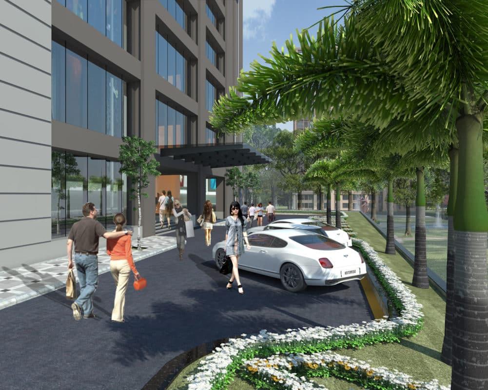 Đúng như tên gọi, Dự án Green Building đỉnh cao chất lượng sống Xanh