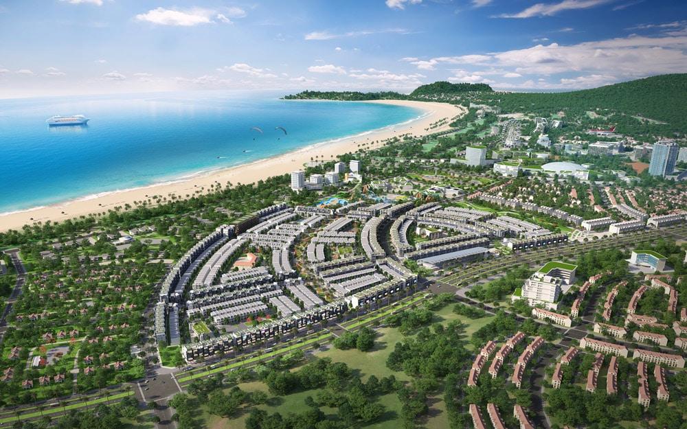 Dự án Nhơn Hội New City giáp mặt Biển Đông xanh thẳm
