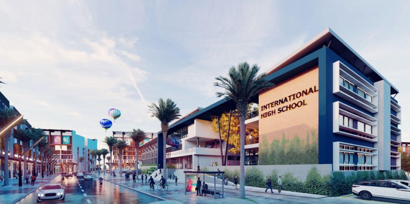 Trường học quốc tế tại Dự án Đất nền Nhơn Hội New City Quy Nhơn