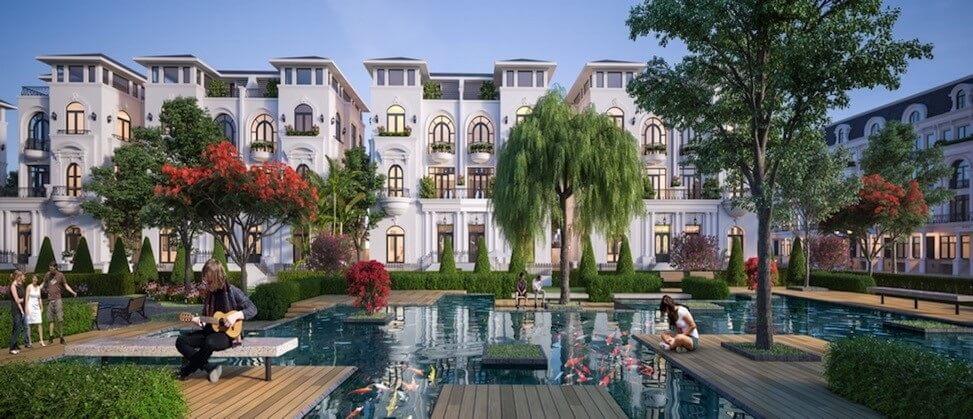 Tham khảo thiết kế Biệt thự song lập Dự án Quảng Tâm Quảng Phú