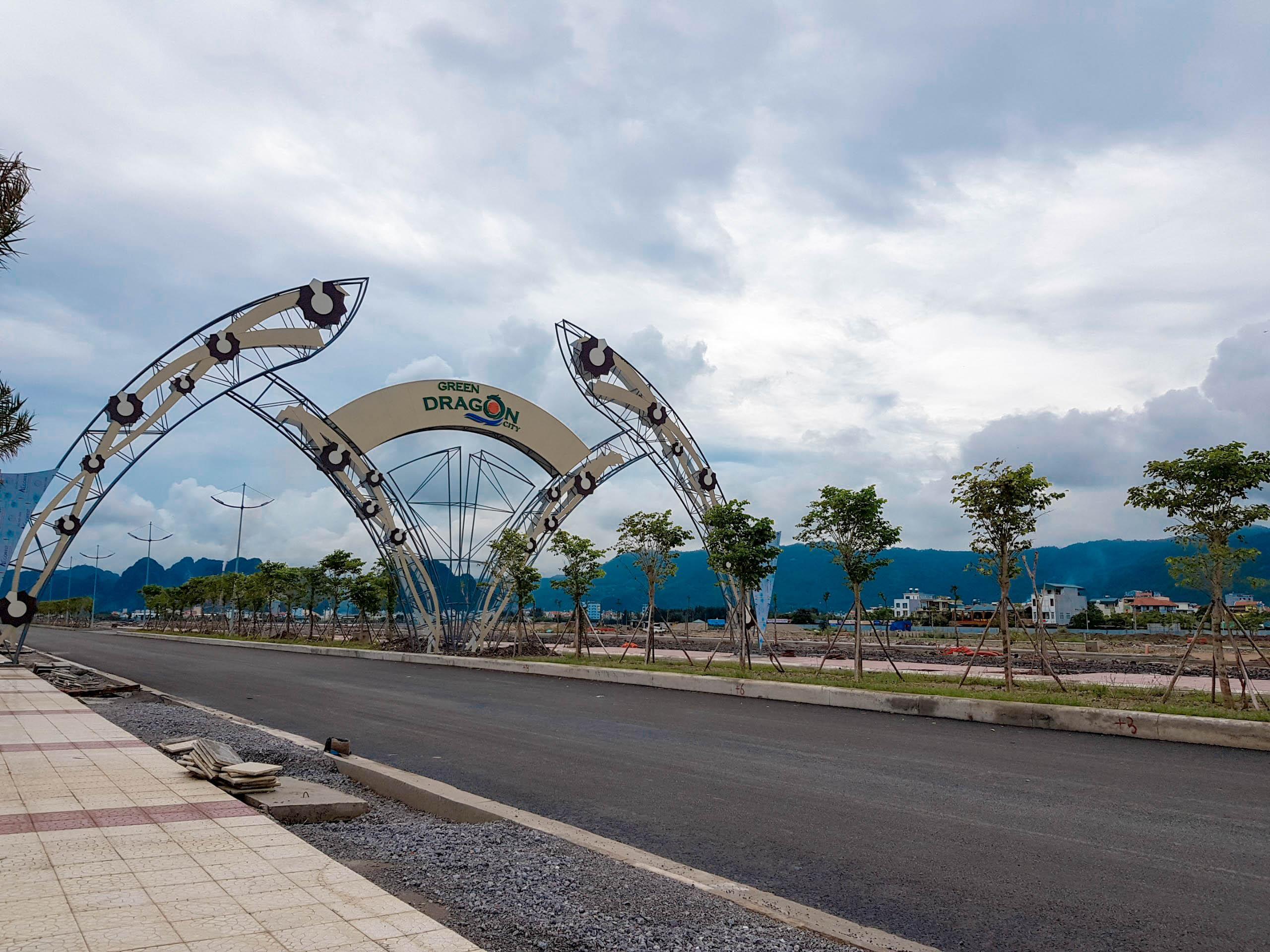 Đường bao biển Dự án Green Dragon City Cẩm Phả