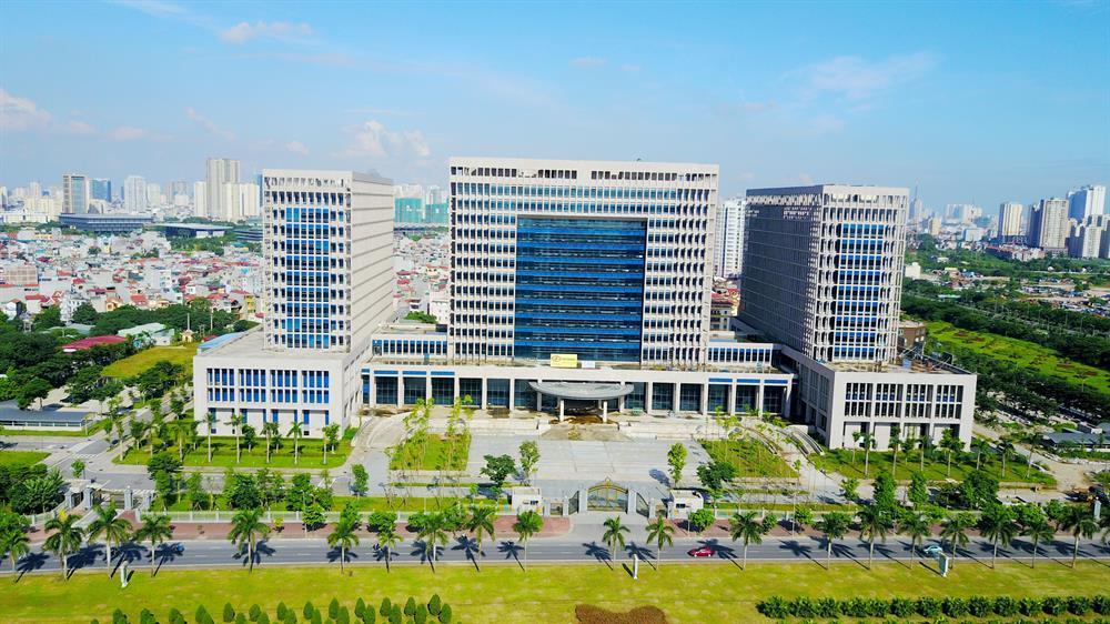 Cạnh The Matrix One là trụ sở Bộ Ngoại Giao nước CHXHCN Việt Nam