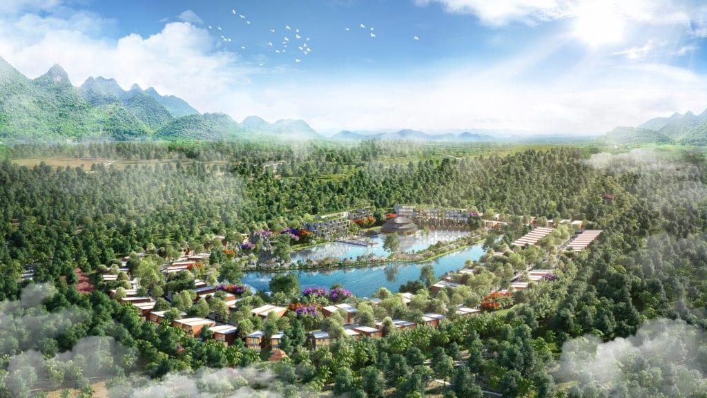 Biệt thự, Condotel Vedana Cúc Phương Resort đắm mình trong hệ sinh thái Xanh biếc
