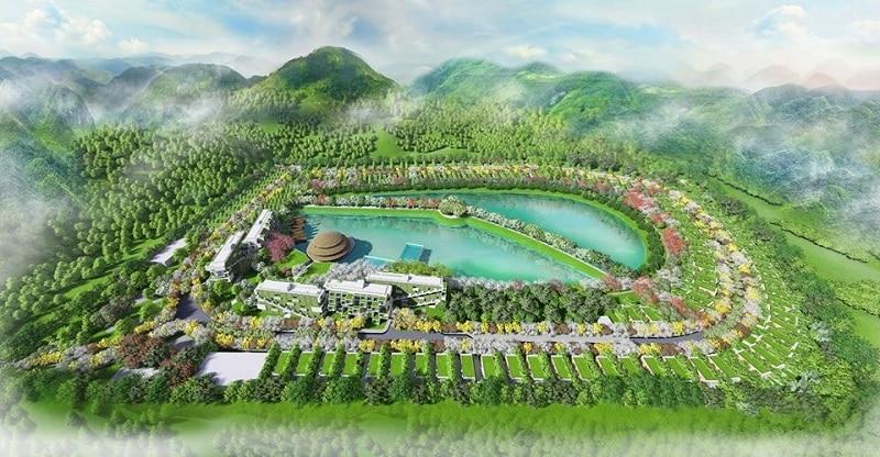 Phối cảnh Dự án Biệt thự Condotel Vedana Cúc Phương Resort Ninh Bình
