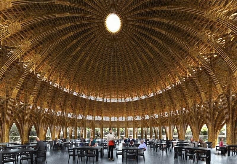 Nhà hàng TRE - Khu du lịch Vedana Cúc Phương Resort