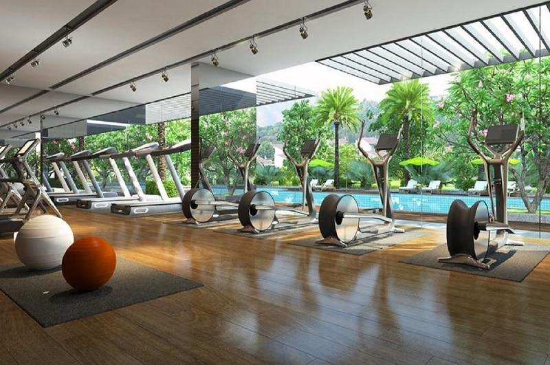 Phòng tập Gym 5* Khu Biệt thự Vedana Cúc Phương Resort