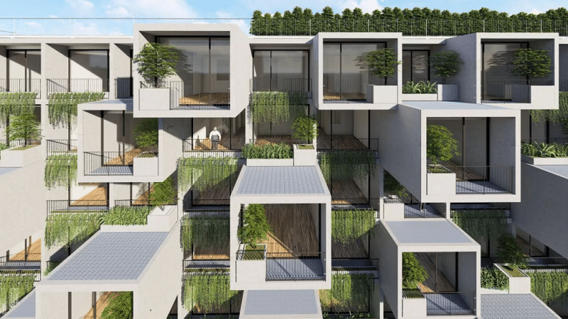225 căn hộ khách sạn condotel trong Dự án Biệt thự Vedana Cúc Phương Resort