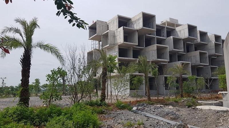 Ảnh thực tế Khách sạn 5 tầng Condotel Vedana Cúc Phương Resort