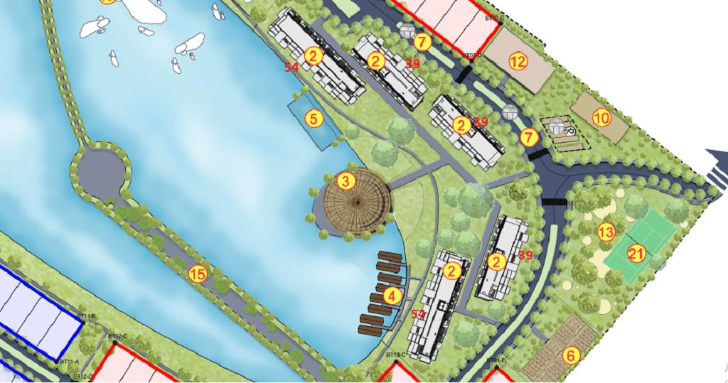 Tọa độ Condotel Dự án Vedana Cúc Phương Resort