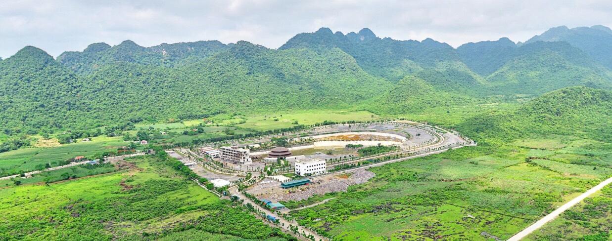 Flycam View siêu phẩm Dự án Vedana Cúc Phương Resort Ninh Bình 2019