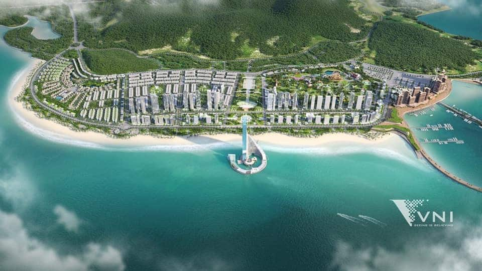 Phối cảnh tổng thể Dự án Sun Hạ Long Ocean Park