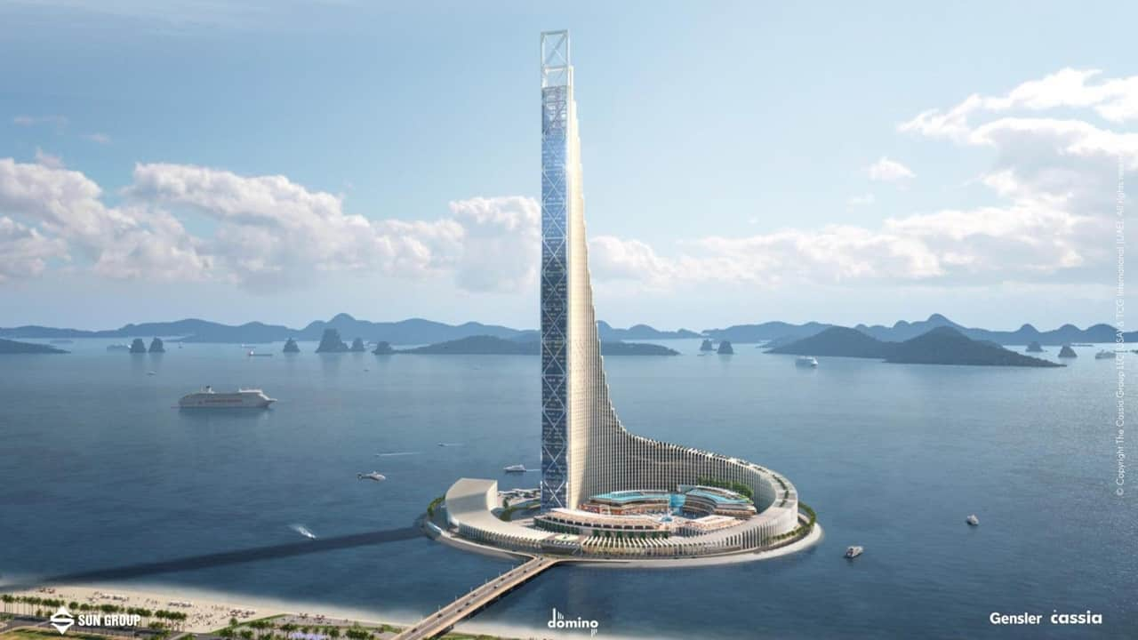Tháp cao 99 tầng Sun Hạ Long Ocean Park top 10 thế giới