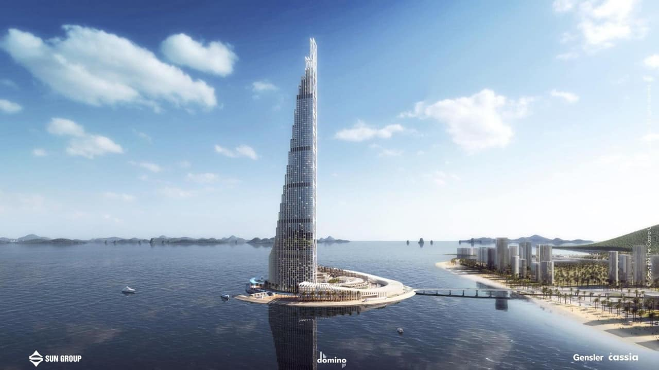 Dự án Sun Hạ Long tháp cao 99 tầng