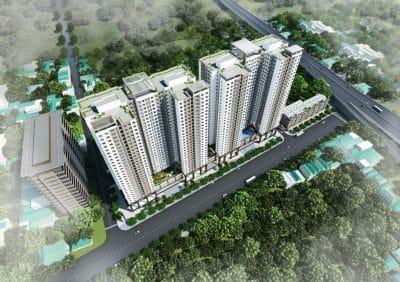 Chung cư Phương Đông Green Park số 1 Trần Thủ Độ Hoàng Mai
