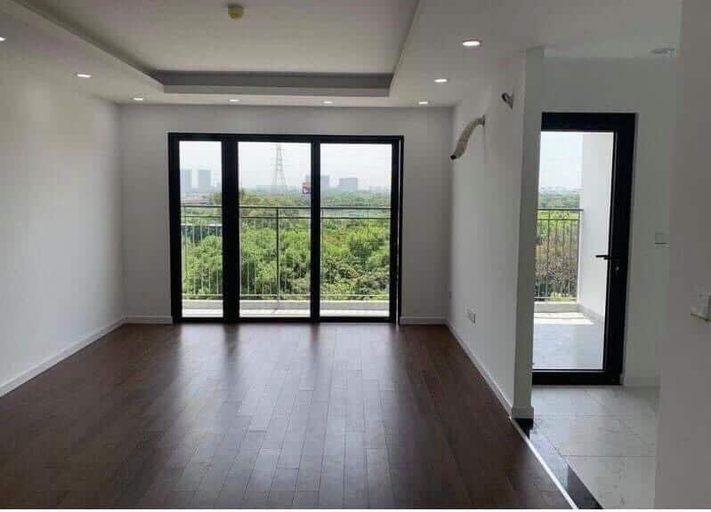 Phòng khách căn mẫu Chung cư Phương Đông Green Park tháng 7 năm 2020