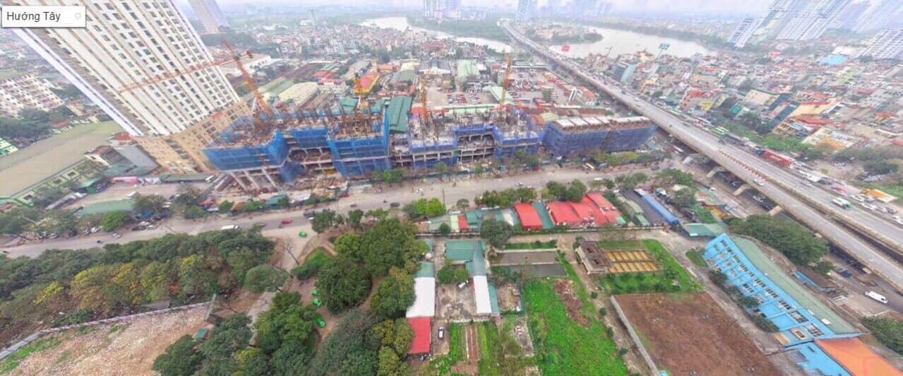 Cập nhật tiến độ thi công Dự án Green Park Trần Thủ Độ tháng 3 năm 2020
