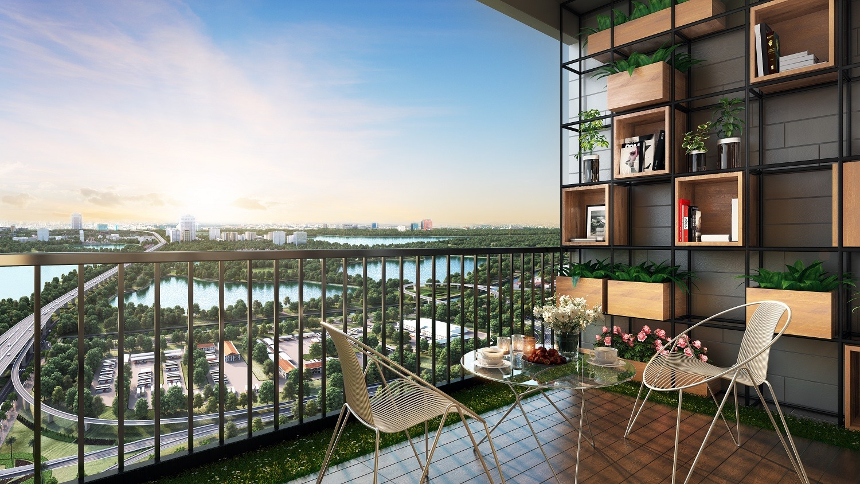 100% căn hộ Chung cư số 1 Trần Thủ Độ sở hữu tầm view triệu đô - căn hộ 02,03,11,12 view công viên Yên Sở