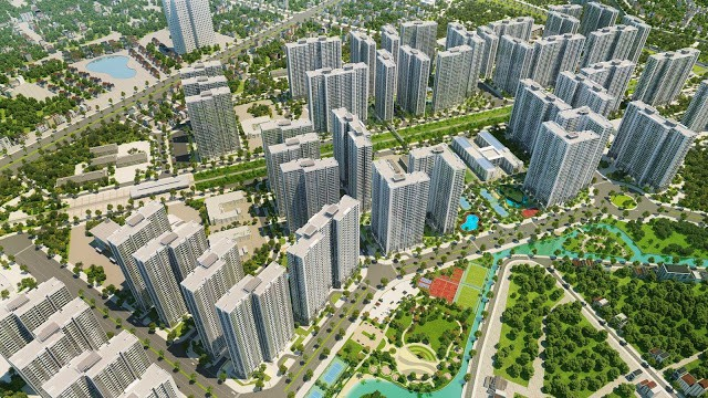 Phối cảnh Imperia Smart City