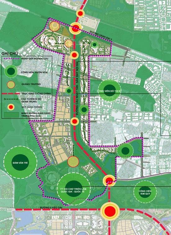 Mặt bằng Tổng thể Dự án Thành phố Thông minh Bắc Hà Nội