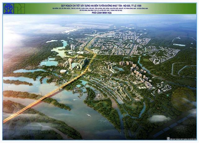 Quy hoạch chi tiết Dự án Thành phố Thông minh Bắc Hà Nội
