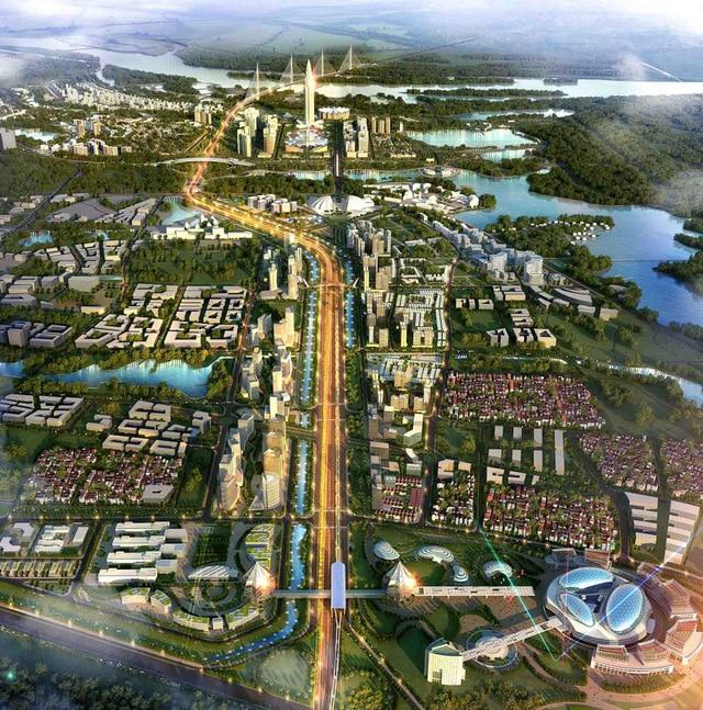 Phối cảnh Dự án Thành phố Thông minh Bắc Hà Nội