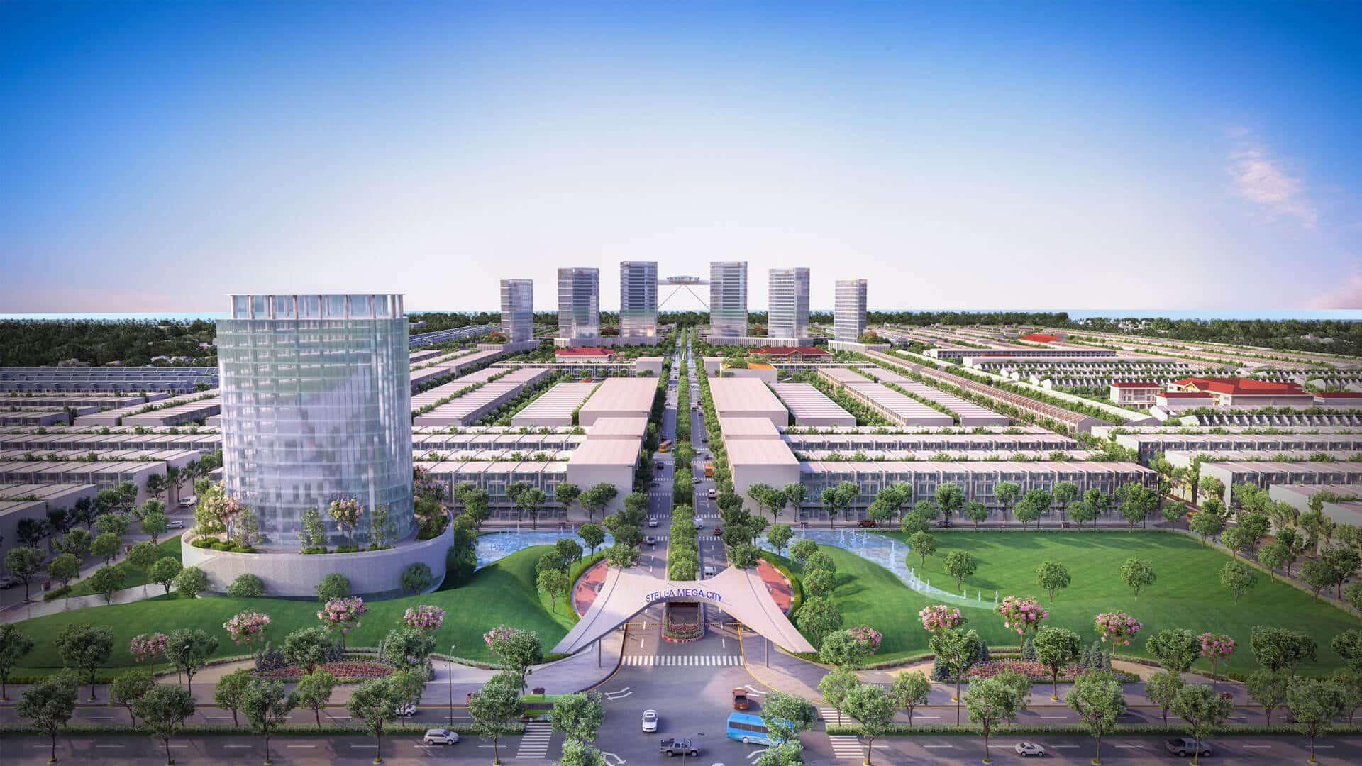 Dự án Stella Mega City Cần Thơ với 154ha và hơn 4,000 sản phẩm