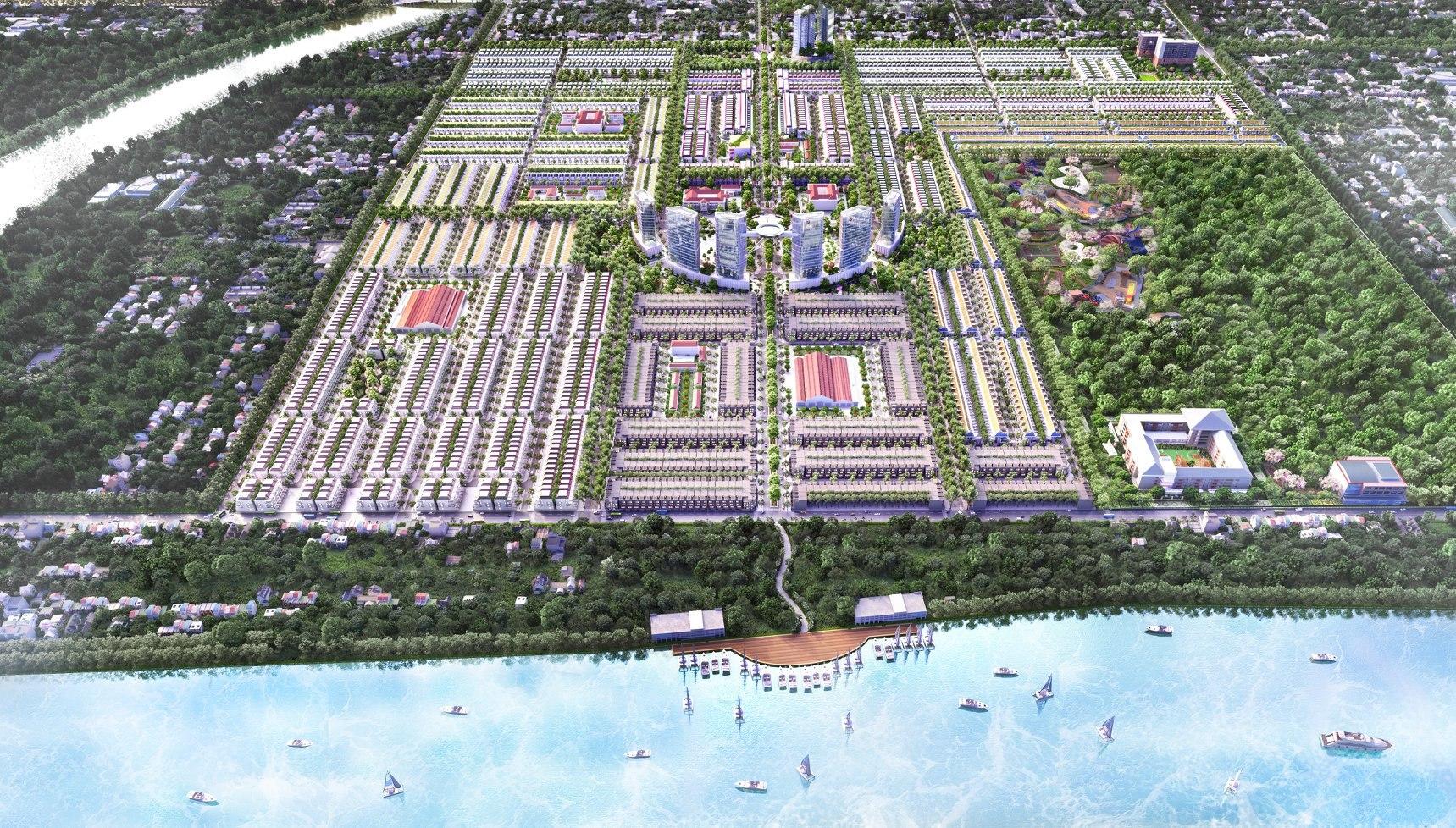 Stella Mega City Cần Thơ vượng khí hanh thông, minh đường rộng mở