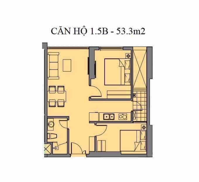 Căn hộ S08 và S17 Tòa S Dự án Mipec Rubik 360 Xuân Thủy