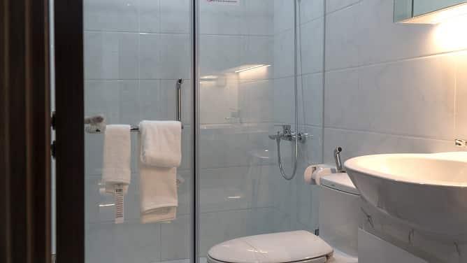 Phòng Tắm căn hộ mẫu số 06 diện tích 67,8m2 full đồ Phương Đông Green Park