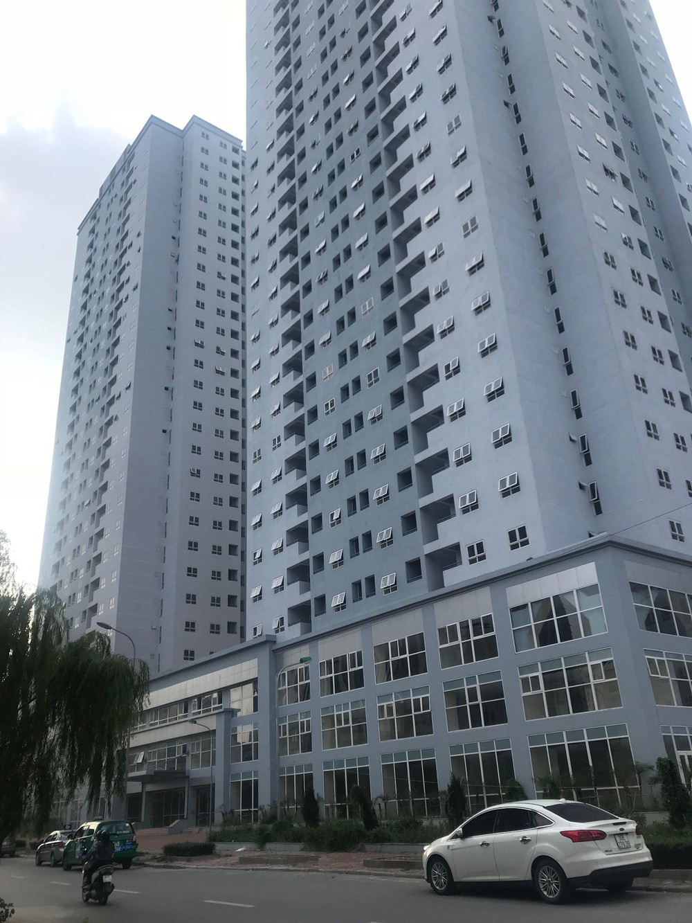 Dự án Chung cư A14 Nam Trung Yên