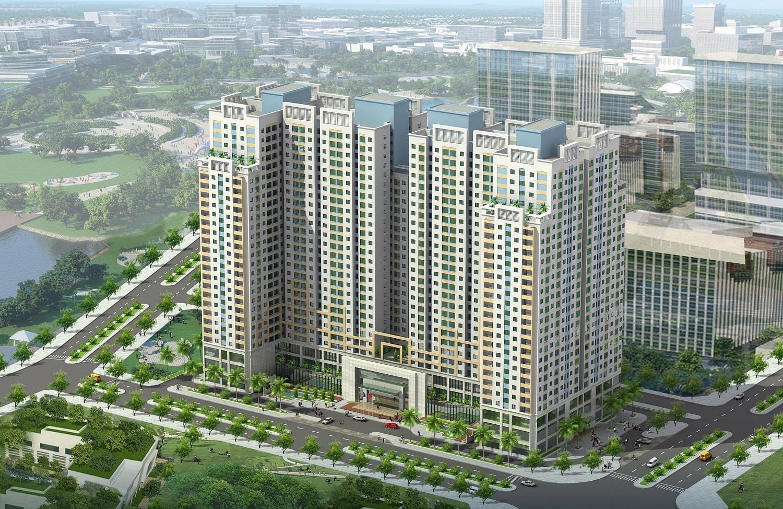 Phối cảnh Dự án Chung cư Đồng Phát Residence Phan Trọng Tuệ