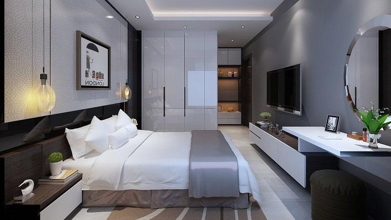 Tham khảo nội thất phòng ngủ Dự án Chung cư Đồng Phát Residence Thanh Trì