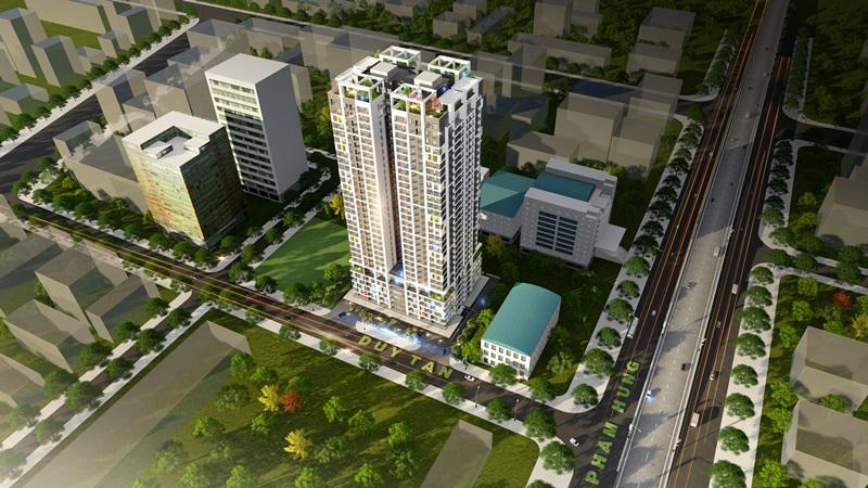Phối cảnh Flycam Dự án Chung cư Dreamland Bonanza