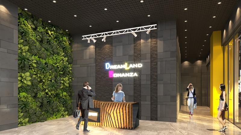 Sảnh lễ tân Dreamland Bonanza