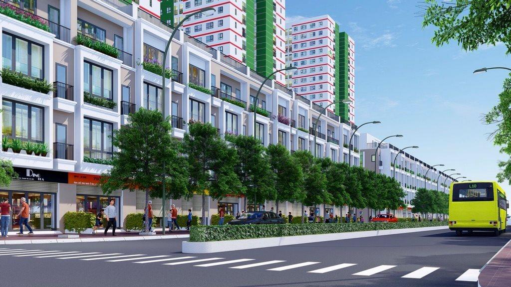 Tầng đế Thương mại, Dịch vụ Dự án IEC Complex Thanh Trì