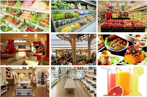 Trung tâm thương mại, dịch vụ đáp ứng mọi nhu cầu sinh hoạt, mua sắm của cư dân